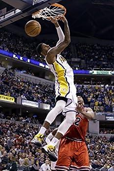 FantasticDecoration Paul George Slam Dunk Indiana Pacers Basketball Poster Art Print 36 x24  B