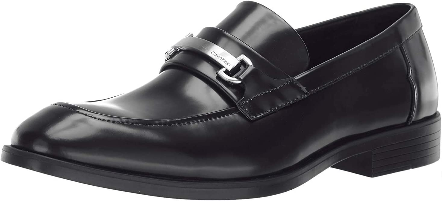 Calvin Klein Men's Craig Box Leather Loafer