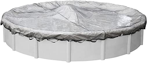 Robelle 4418 Standard Leaf Net for Round Above Ground Swimming Pool Covers, 18-ft. Round Pool