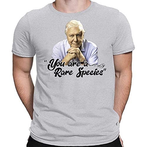 David Attenborough You are A Rare Species T-Shirts, Unisex