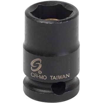 Sunex 319MMG 3//8-Inch Drive 19-Mm Magnetic Impact Socket Sunex International
