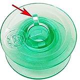 Box of 25 Clear GREEN Bobbins For Viking Husqvarna White Home #4125615-45 #4123078-G,HUSQVARNA VIKING Rose Designer Platinum Lily Series, Pfaff
