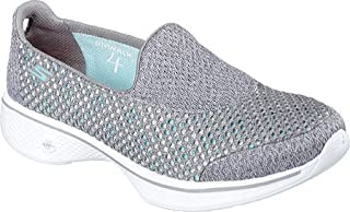 Skechers Performance Womens Go Walk 4 Kindle Slip-On Walking Shoe