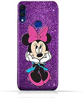 Honor 8C TPU Mobile Case with Minnie Mouse Design