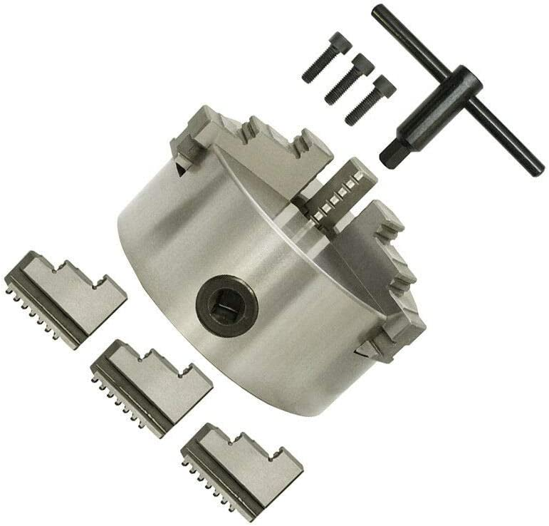 Jaw Self-centering 2021 new Chuck Hardened 6 Max 65% OFF Lathe Tool Reversible