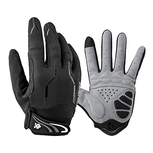 Full Finger Bike Gloves Unisex Outdoor Touch Screen Cycling Gloves Road Moutain Bike Bicycle Gloves M
