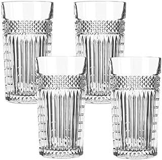 Libbey Radiant - Longdrinkglas, Cocktailglas, Wasserglas - Transparent - 4 Stück - 470 ml