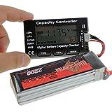 SoloGood 7 Digital Lipo Battery Capacity Checker 5-in-1 Battery Meter for NiMH Nicd Life LiPo Li-ion Battery …