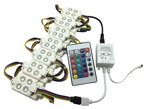 YXH 12V 5050 LED Kit RGB wasserdichtes Modul (Fernbedienung und Steuerung)