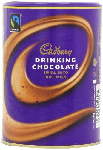 Cadbury Drinking Hot Chocolate 500 g (Pack of 3)