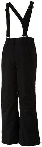 McKinley Pantalon de Ski Pantalon de Ski Fille Rose Bella II Noir