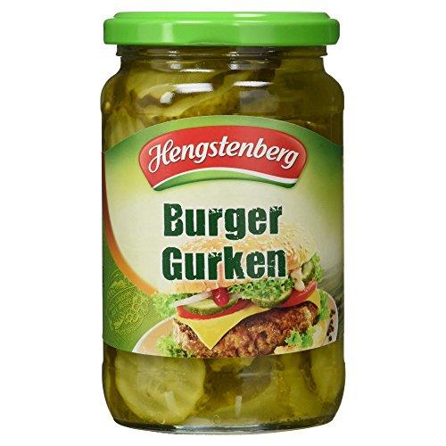 Hengstenberg Burger Gurken, 185 g