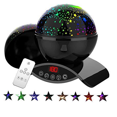 proyector estrellas bebe de la marca Bizzerinc