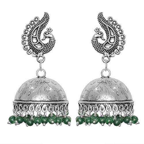 Oxidised fashion Sales jhumki earrings Challenge the lowest price of Japan girls and for women
