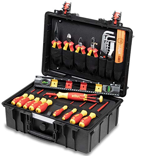 Wiha Werkzeugkoffer Basic Set L electric...