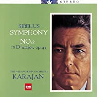 Karajan & The Philharmonia Orchestra - Sibelius: Symphony Nos.2,5 [Japan LTD HQCD] TOCE-91075 by Karajan & The Philharmonia Orchestra