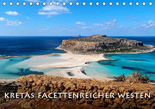 Kretas facettenreicher Westen (Tischkalender 2021 DIN A5 quer)