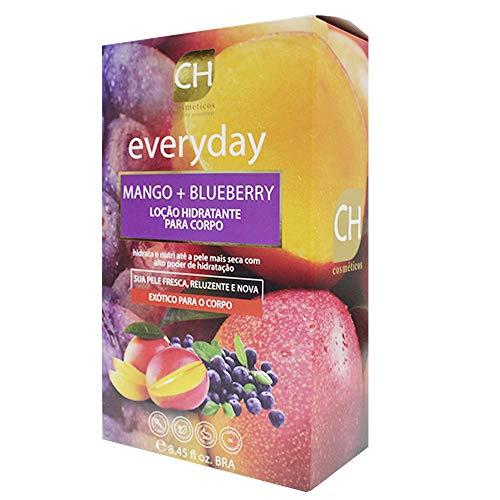 Kit Hidratante Ch Cosméticos Everyday Mango 250ml e Blueberry 250ml
