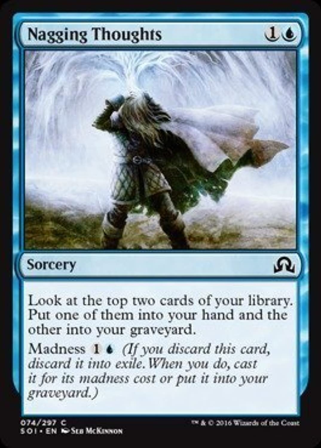 Magic  the Gathering - Nagging Thoughts (074 297) - Shadows Over Innistrad by Magic  the Gathering B01GDP98NU Tadellos    Deutschland Frankfurt