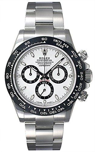 ロレックス ROLEX デイトナ 116500LN 新品 腕時計 メンズ (116500LNWH) [並行輸入品]