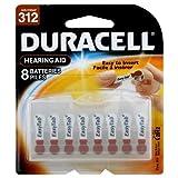 Duracell DA312B8 - Pilas de audífonos (8 Unidades)