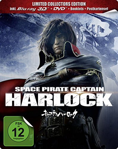 Space Pirate Captain Harlock - Steelbook [3D Blu-ray] [Limited Collector's Edition]
