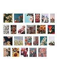 46個/箱フラワーラベルステッカーDIYハンドアカウントスクラップブッキング日記アルバム装飾ミニステッカー