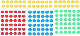 STOBOK 400pcs Color Counting Chips Reward Coins Bingo Games Markers Montessori Preschool Math Teaching Tools for Children ...