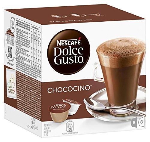 Nescafé Dolce Gusto Chococino Cacao, Cioccolata, 16 Capsule (8 Porzioni)