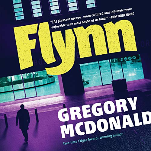Flynn Audiobook By Gregory Mcdonald cover art