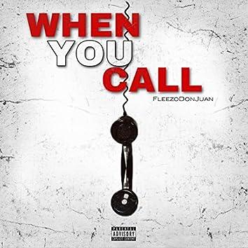 When You Call