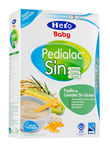 Hero Baby Pedialac Cereales SIN Gluten 300 g