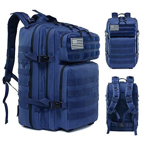 45L Mochila Táctica Militar Molle Army Assault Bag Senderismo Camping Caza Exterior