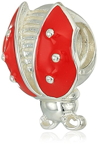 Price comparison product image Chamilia Red Ladybug Bead Charm