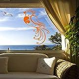 zqyjhkou Vinyle Stickers Muraux Home Design Étanche Decal Élégant Décoration Meilleure Qualité pour Salon Murale 30X50cm