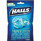 Halls Mentho-Lyptus Drops, Ice Peppermint 30 ea