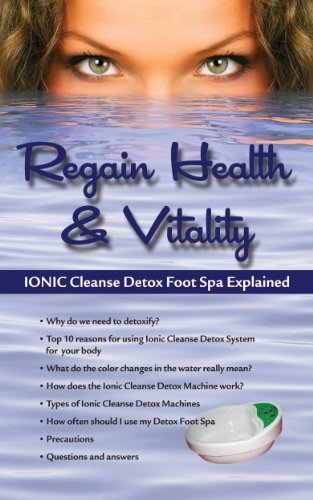 Price comparison product image 10 PACK! REGAIN HEALTH & VITALITY! IONIC CLEANSE DETOX FOOT SPA EXPLAINED.