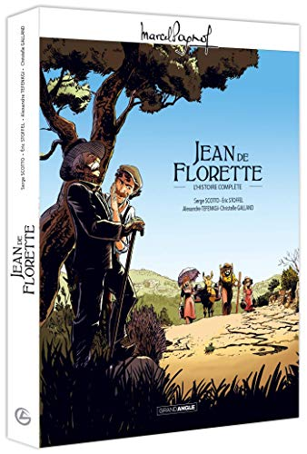 M. Pagnol en BD : Jean de Florette - écrin histoire complète