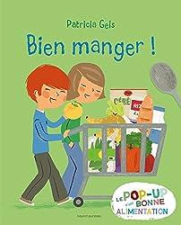 Livre Pop Up Bien manger - Le Pop Up d'une bonne alimentation.