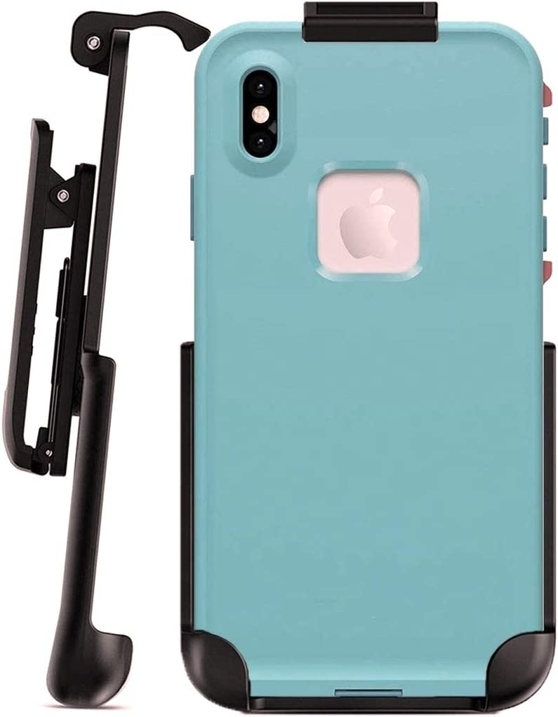 Encased Belt Clip Holster Compatible with Lifeproof Fre Series - iPhone Xs MAX 6.5