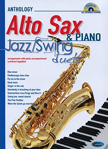 JAZZ SWING DUETS FOR ALTO SAX & PIANO +CD