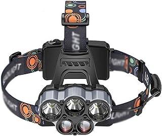 Yalztc-zyq16 野生の釣りヘッドライトオフロードハイキング乗馬特別なヘッドライトグレア充電式超高輝度防水釣りライト