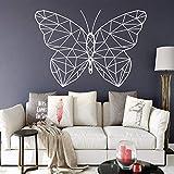 Divertente geometria di adesivi murali farfalla Decorazioni per la casa per la camera dei bambini...