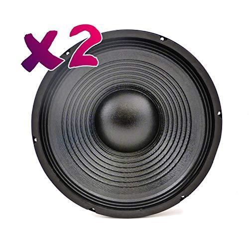 Soundlab - Juego de 2 altavoces de 12 pulgadas (200 W, 8 ohmios)