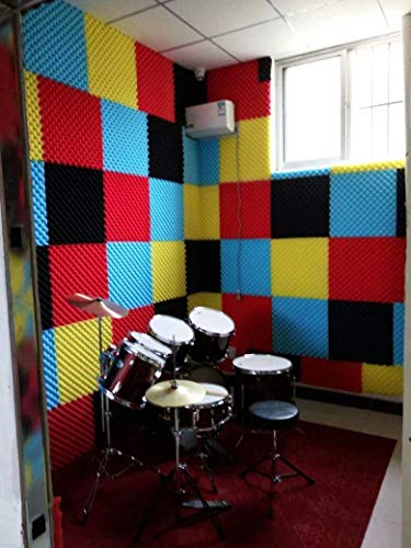 Doyeemei Paneles de insonorización acústica azulejos de espuma...