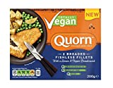 Quorn ESCALOPE EMPANADA Quorn ESCALOPE EMPANADA con pan rallado de limón y pimienta 200g (Pack de 4)