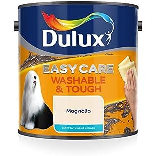 Dulux Easycare Washable and Tough Matt Paint, Magnolia 2.5 L