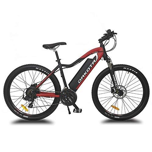 URBANBIKER Vélo électrique VTT Dakota, Batterie Lithium Samsung 48 V 17.5 Ah (840 Wh) Moteur 350W. Freins hydrauliques Shimano (29')
