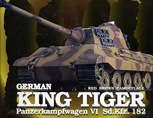 1 35 King Tiger braun camouflage (Full Function RC tank) (japan import)