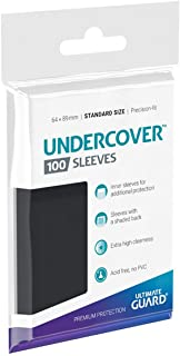 Ultimate Guard Undercover Sleeves Standard Size Card Game (100 Pack)